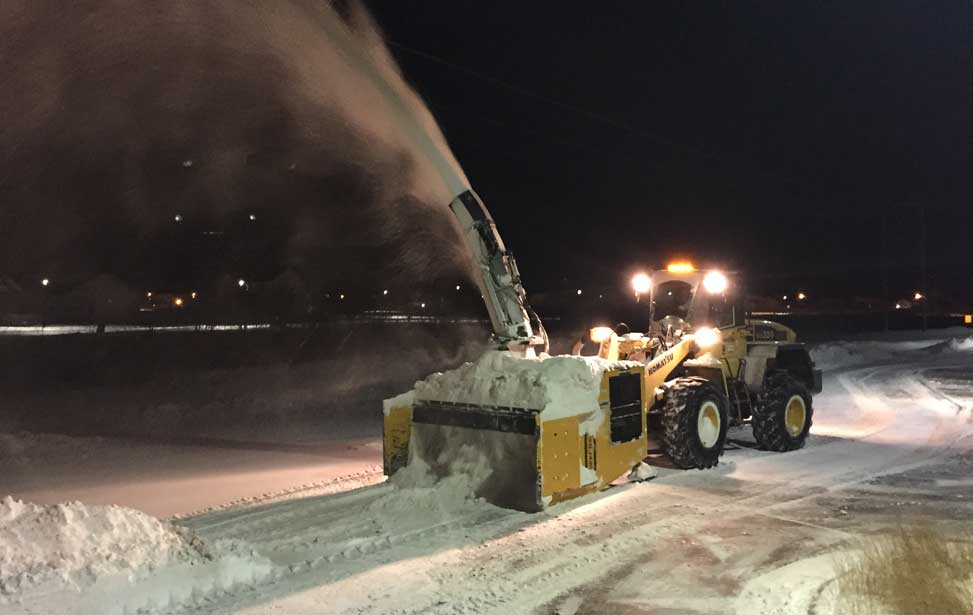 Glacier Snow offers snow removal